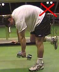 Скругление спины в упражнениях - путь к травме.