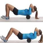 Фоам роллер. Расслабляем мышцы и фасции.
