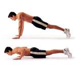 Мышцы кора и отжимания-тест