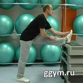 Комплекс упражнений на гибкость. Комплексная растяжка на опоре 2.