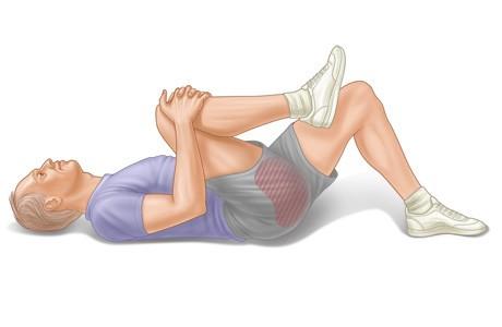 Боль в спине. Расслабление спины