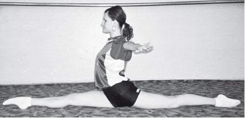 Правильный шпагат без выворота сустава болит в плечевом суставе и отдаёт в локоть