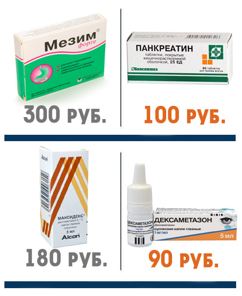 Аналоги мезима и максидекса