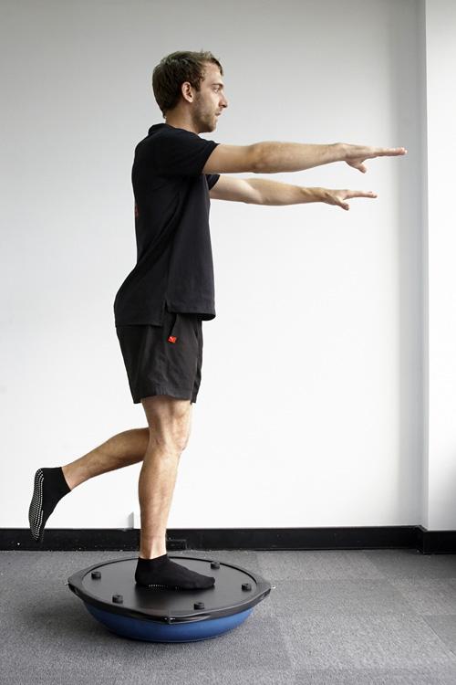 Упражнение на босу