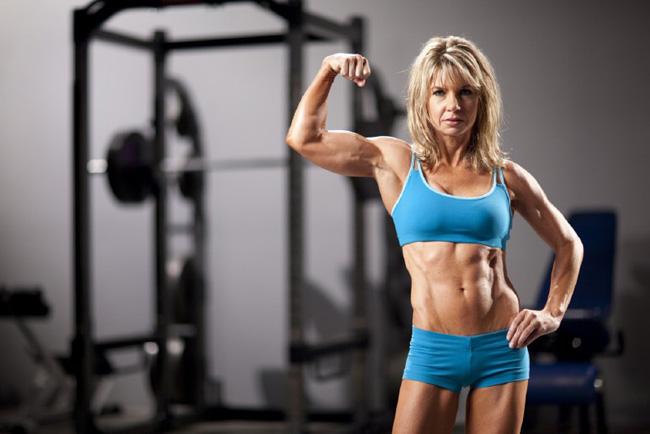 Женщины за 40, фитнес