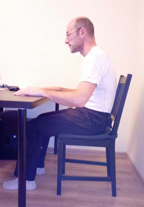 Как правильно сидеть