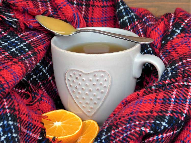 Чай с мёдом для иммунитета