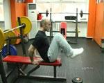 Круговая тренировка в тренажёрном зале