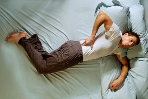 Бок болит после сна со стороны спины
