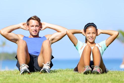 Тренировка мышц при болях в спине