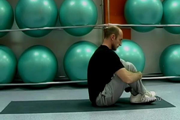 Упражнение для самомассажа спины