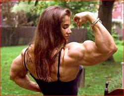 Самые большие женские мускулы фото фото 674-76