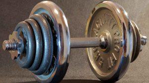 Разборные гантели. Как быстро выставить нужный вес.