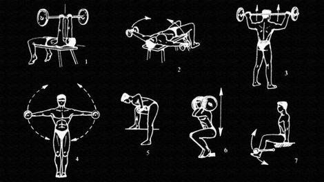 Мой комплекс упражнений