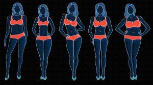 Типы женского телосложения