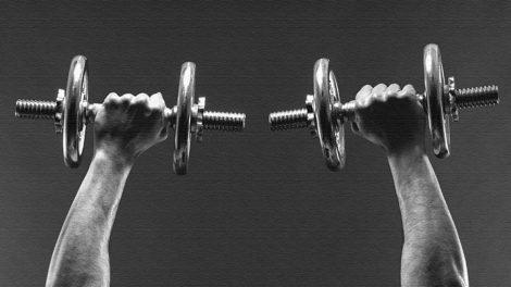 Упражнения с гантелями и рейтинг нагрузки