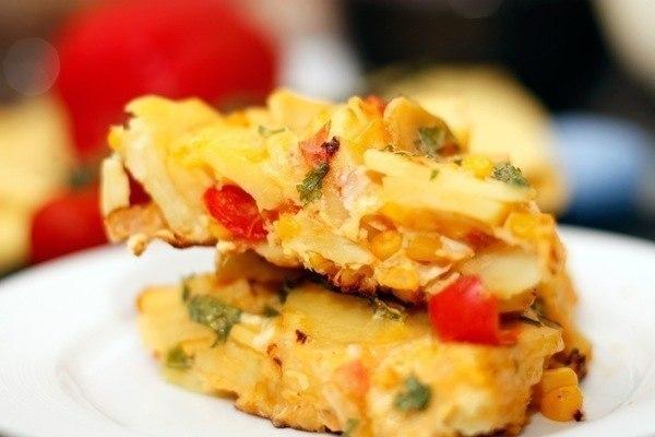 Рецепты из яиц. Тортилья по-испански