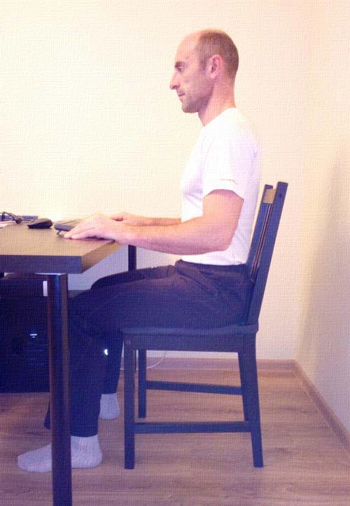 Правильно сидим за столом