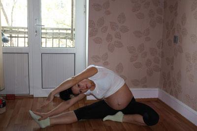 Упражнения для ягодиц для беременных