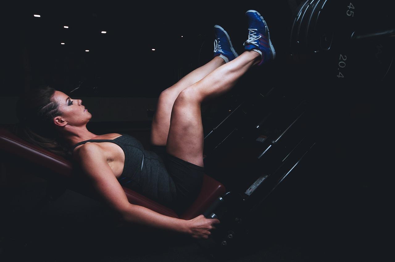 Как набрать вес женщине? Силовые упражнения.