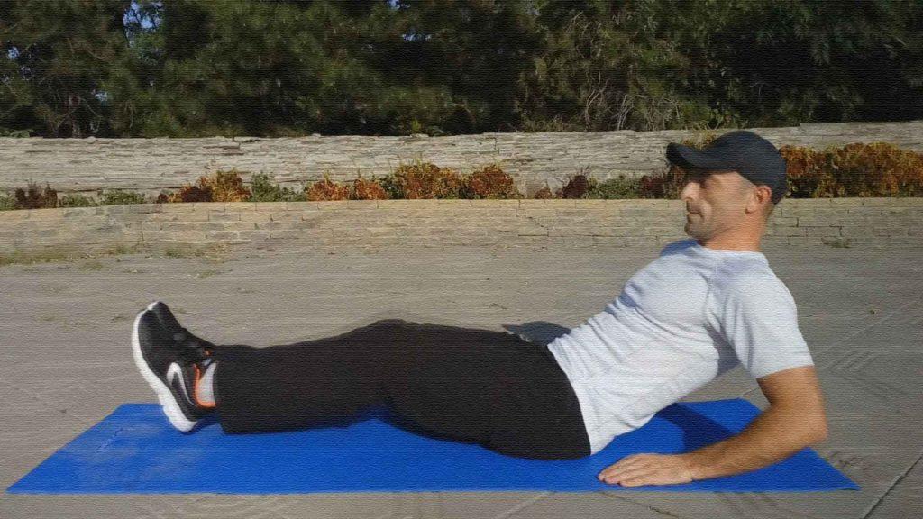 Подтягивания коленей к груди сидя