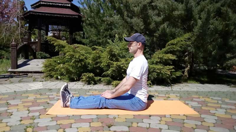Тесты на гибкость сидя