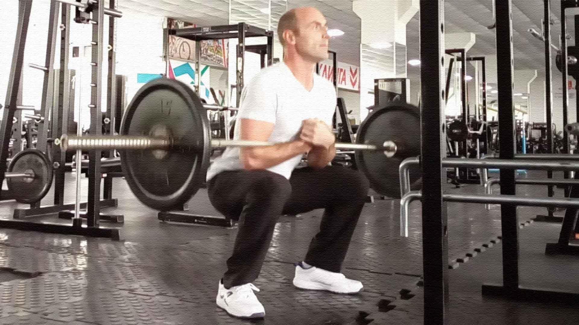 Приседания зерхера  упражнение для развития мышц ног