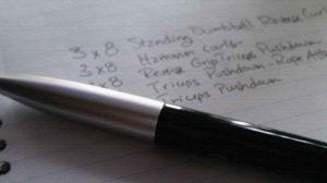 Зачем вести дневник тренировок