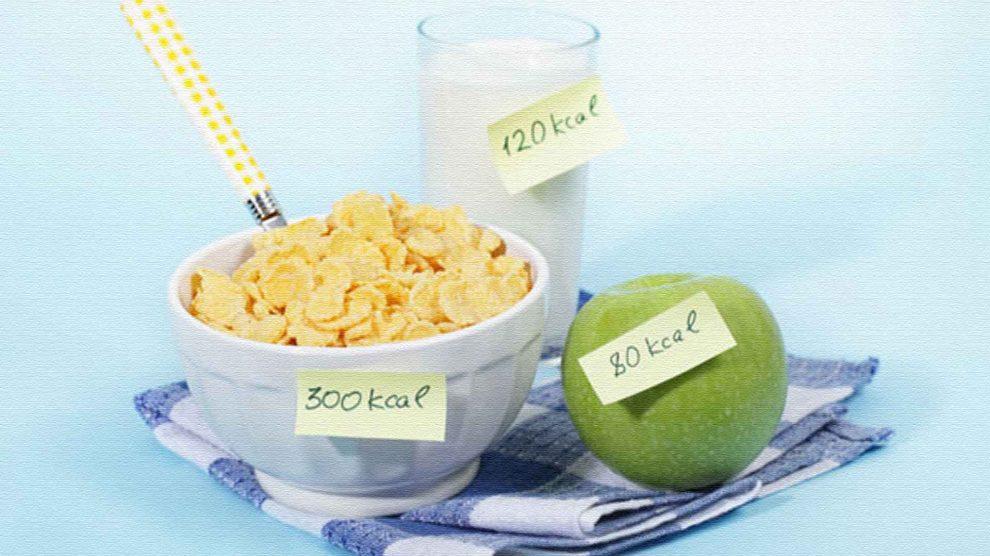 Сколько калорий надо в день