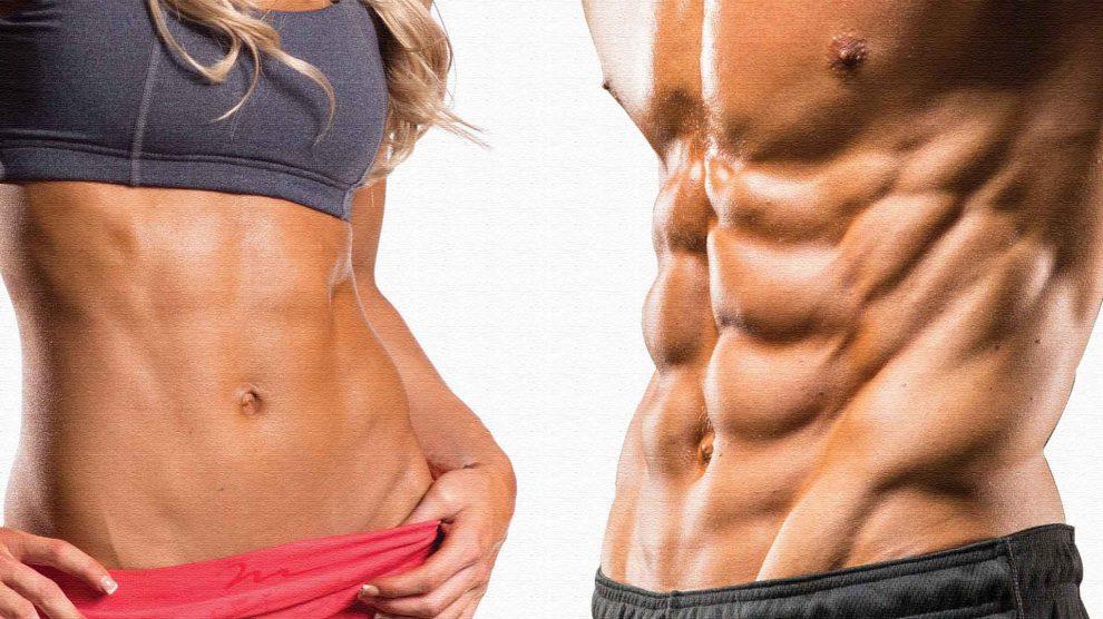 Упражнения для пресса. 10 эффективных упражнений для мышц живота.