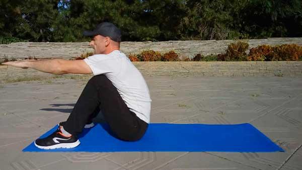 Упражнение для пресса - ситап