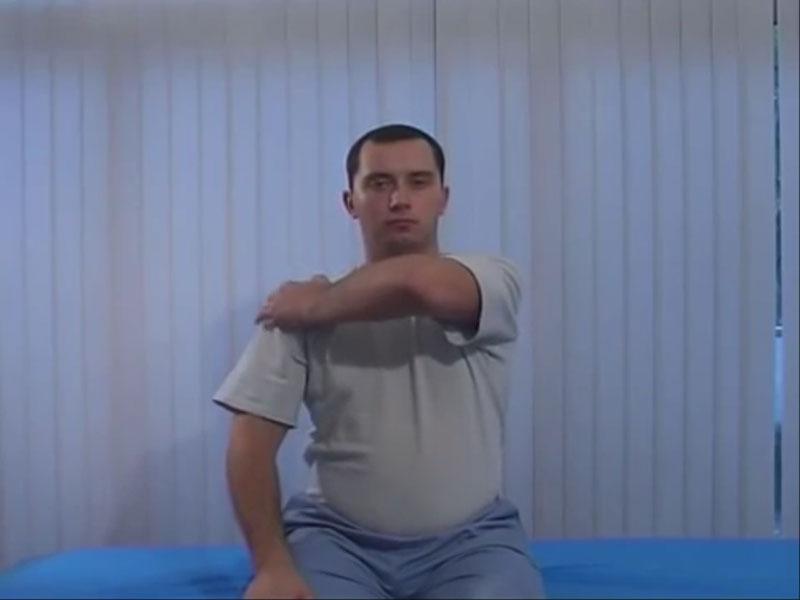Упражнение для шеи - рамка