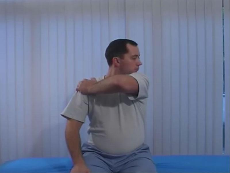 Упражнение рамка для мышц шеи