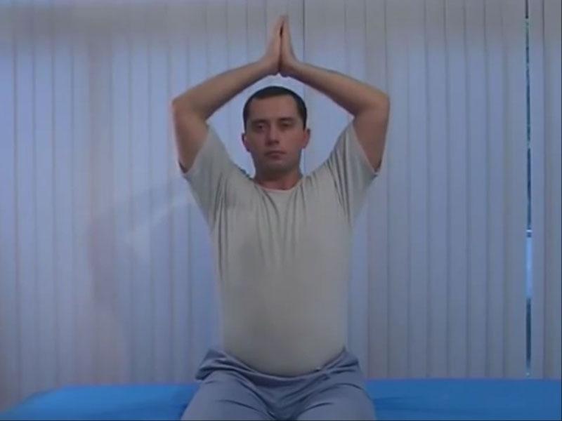 Упражнение для шеи - факир