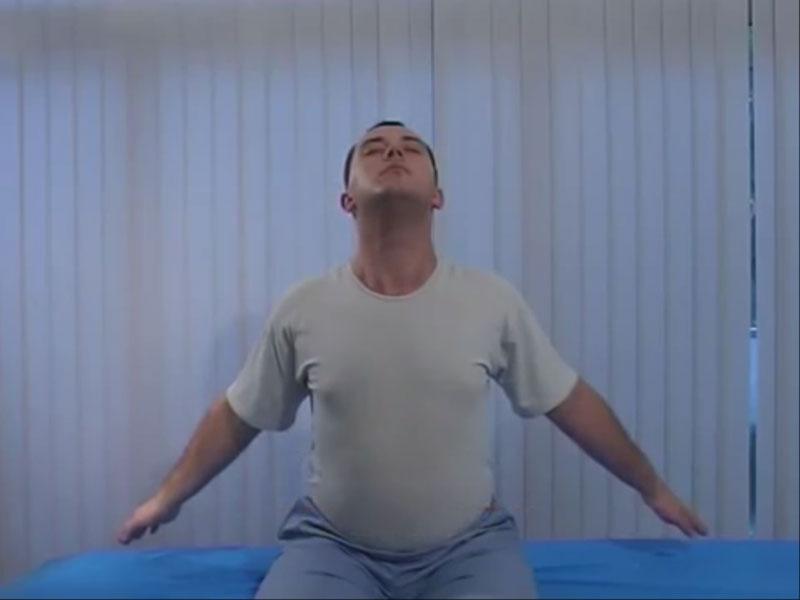 Упражнение Цапля