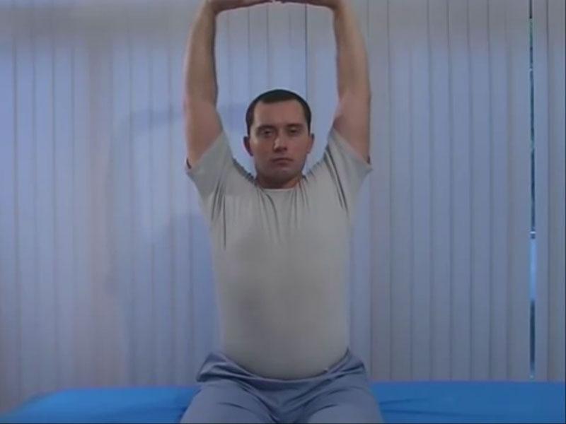 Упражнение для шеи - дерево