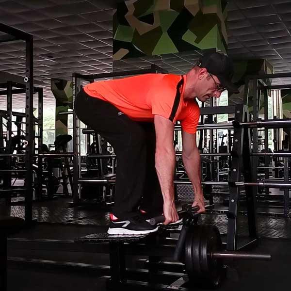 Упражнение рычажная тяга для мышц спины
