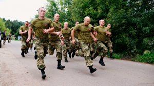 Подготовка армейского подразделения к марш-броску