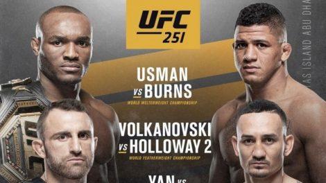 Боец основного карда UFC 251 выбыл из-за коронавируса