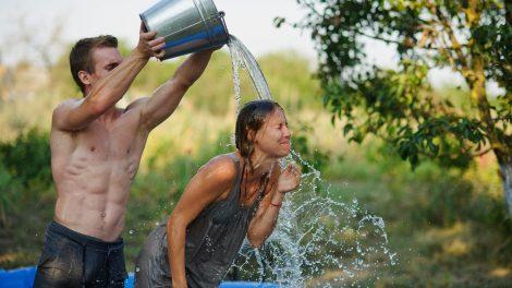 обливания холодной водой